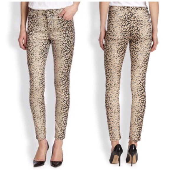 Jeans 7 Leopard All Ankle For 27 Skinny Poshmark Mankind Print AZAqCxtT